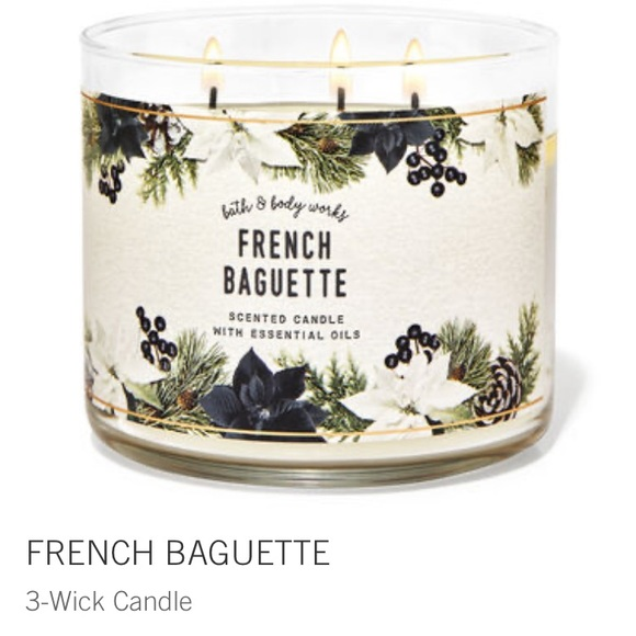 NEW 3 wick candle from Bath and Body Works
